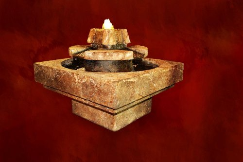 Henri Cast Stone - Stone Edge Cascade Fountain By Henri Studio