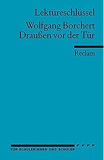 Der tur  Draußen vor der Tür: Amazon.de: Wolfgang Borchert, Ludwig Cremer ...