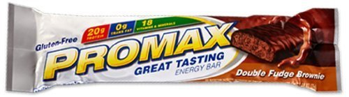 Promax Double Fudge (Promax Protein Bar-Double Fudge Brownie-12 Bars)