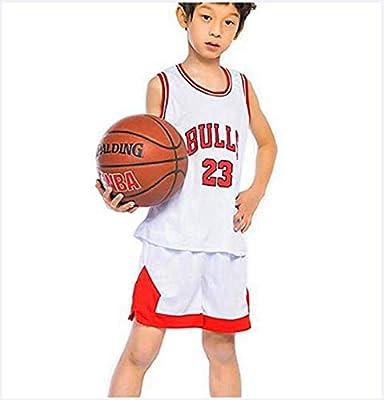 LLZYL Childrens Jersey - Bulls 23# Jordan Ropa De Baloncesto para ...