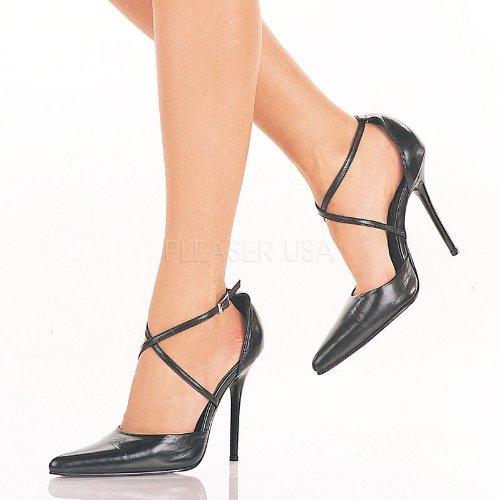Pleaser vestir negro mujer para Schwarz Zapatos de pqzSrwFp