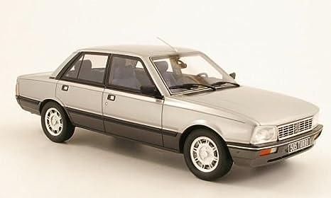 Peugeot 505 turbo, plateado-gris, Modelo de Auto, modello completo, Ottomobile 1:18: Amazon.es: Juguetes y juegos