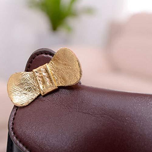 elegante singolo forma per modello Sacchetto tracolla Strap misto gufo Single con di Chain Vivid a Animal Bags donne qCwwd0