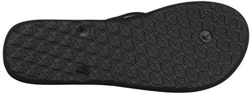 Roxy RoxyTahiti V - Sandalias de Dedo Mujer Varios Colores (Black /             White Stencil)