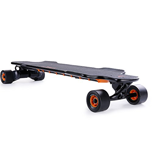 Buffalo F Electric Skateboard, 39'' Single/Dual Motor Remote Controlled Electric Longboard (2400W 40km/h) by bualo