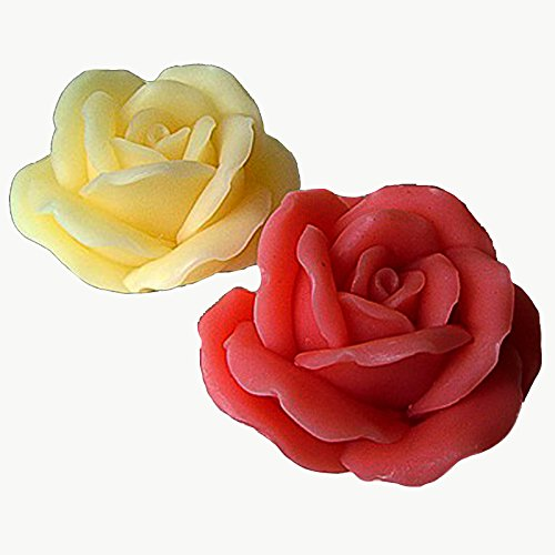 Blooming Rose - 3d Soap/candle/polymer/clay/cold Porcelain Silicone Mold