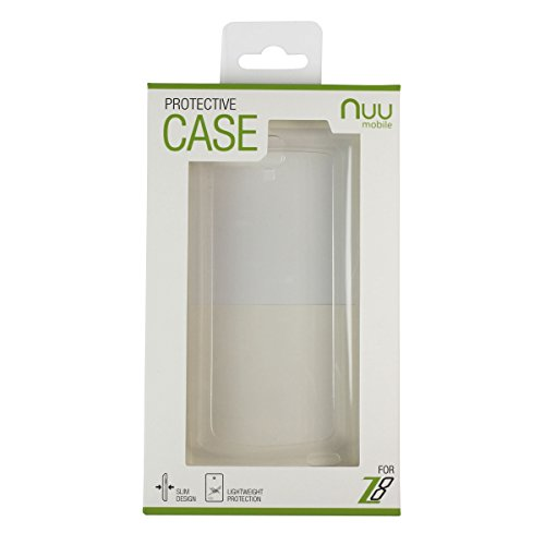 NUU Mobile Z8 Protective Case, Clear
