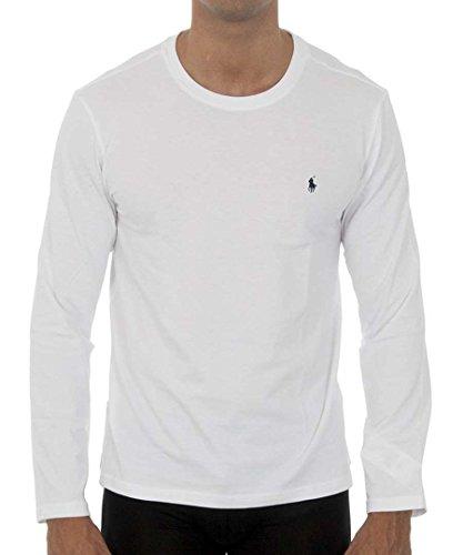 Polo Ralph Lauren Men's Long Sleeve Pony Logo T-Shirt - Medium - - Ralph Lauren Western