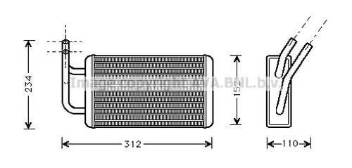 PRASCO FDA6215 Heater: