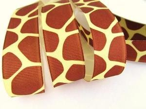 Ben Giraffe - 25 yards Grosgrain 7/8