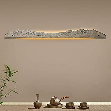 Modern new Chinese wall lamp hotel room bedroom master ...