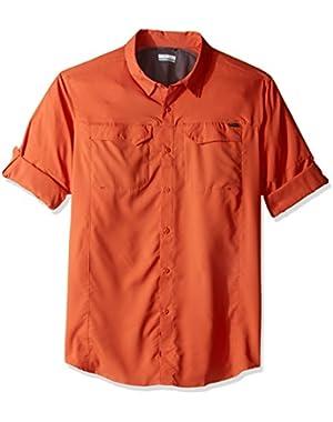 Men's Big-Tall Silver Ridge Lite Long Sleeve Shirt, Tuscan, X-Large