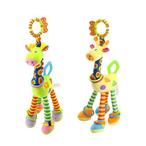 Smibie Plush Giraffe Animal Baby Plush Toy Developmental Int