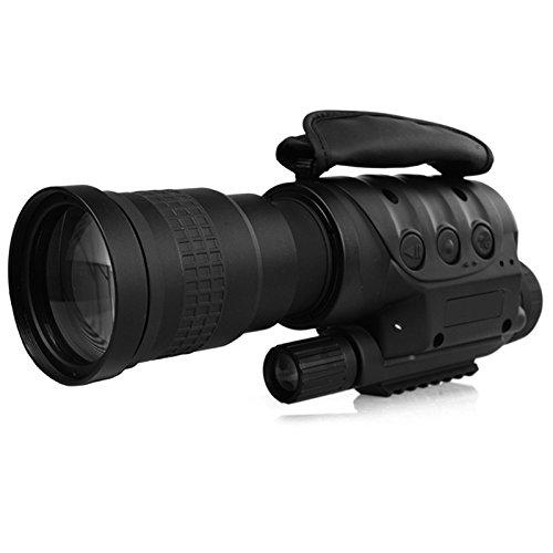 ランフィー 4x40/8x60 デジタルナイトビジョン望遠鏡赤外線の HD クリアビジョン単眼デバイス光学レンズの写真撮影のビデオ出力を記録キャンプハイキング旅行ハンティング B07CWKXG9T 4