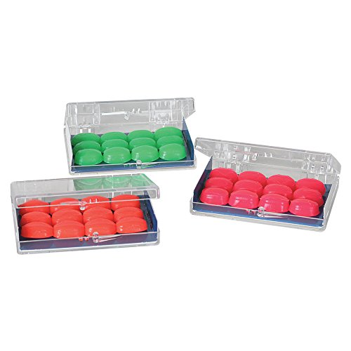 Kids Soft Silicone Ear Plugs - 6 Pairs with Case
