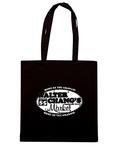T-Shirtshock - Bolsa para la compra TF0059 inspired by Tremors Negro