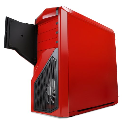 NZXT Phantom 410 Mid Tower Computer Case , Red (CA-PH410-R1)