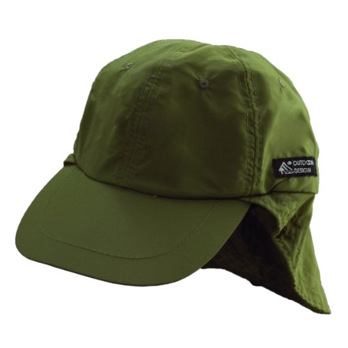Mountain Shock Liberty Cord (Dorfman Pacific Flap Cap, Olive)