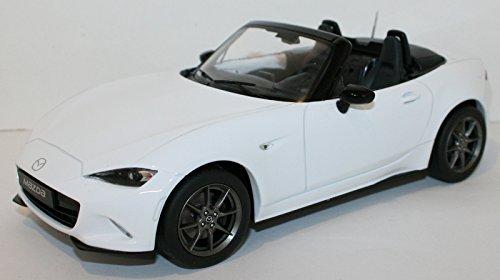 Mazda MX5, weiss, 2015, Modellauto, Fertigmodell, Triple 9 Collection 1 18 B01N34LIFL Miniaturmodelle Spielzeugwelt, spielen Sie Ihre eigene Welt  | Überlegene Qualität