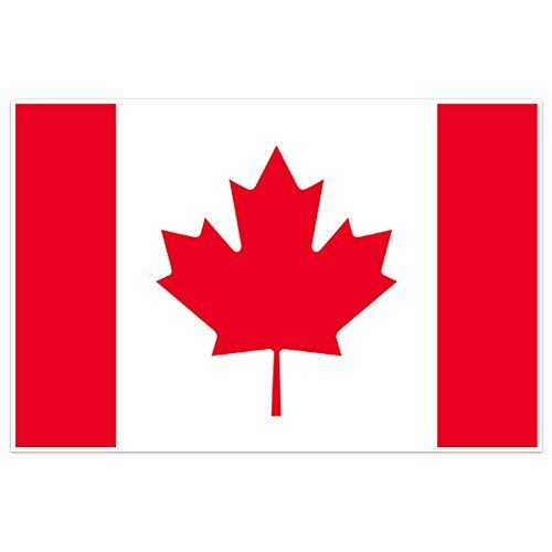 Canada Country Flag Wall Art - Priority Usps Mail Canada