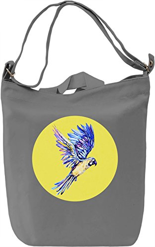 Pop Art Parrot Borsa Giornaliera Canvas Canvas Day Bag| 100% Premium Cotton Canvas| DTG Printing|