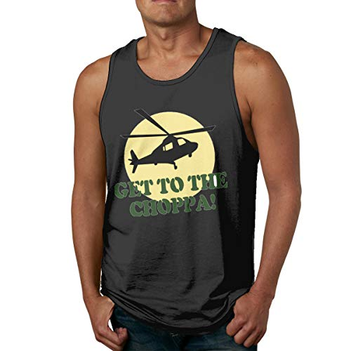 Men's Get To The Choppa Workout Tank Top, S to XXXL