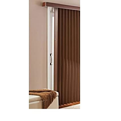Beau Better Homes And Gardens Vertical Blinds, Printed Chestnut