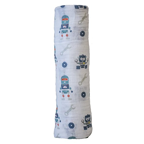 lulujo Baby Cotton Swaddling Blanket