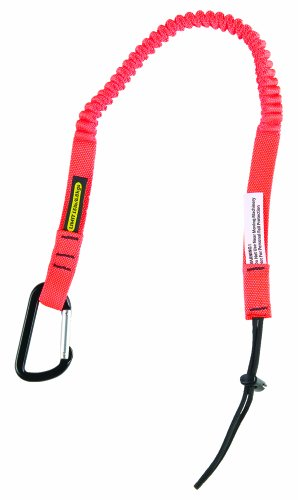 Gear Keeper TL1-3014 3/4'' Super Coil Personal Tool Tether/Lanyard with Aluminum Carabiner and Fixed Lanyard, 25'' - 47'' Length by Gear Keeper (Image #2)