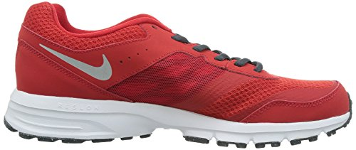 Nike Mens Air Relentless 4 Running Shoes University Red/Black/Dk Magnet Grey/Metallic Silver 7c36glD6