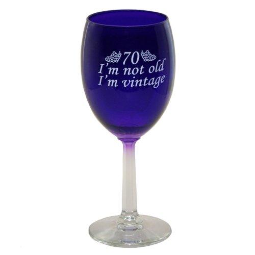 - 70 I'm Vintage Wine Glass