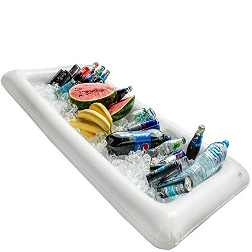 Boon Earthie Inflatable serving bar tray buffet salad food seafood drink ice cooler picnic camp pool party beach celebrate portable friends work colleague summer backyard garden balcony front porch from Boon Earthie