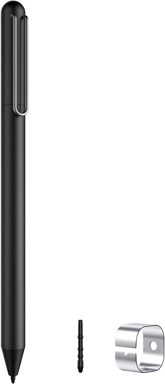 MoKo USI Stylus Pen for Chromebook with 4096 Levels Pressure, Palm Rejection Digital Pen fit Chromebook Duet, HP Chromebook x360 14c/12b, HP Chromebook Flip C436/C536/CX5/CM5, Galaxy Chromebook, Black
