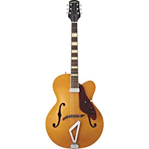 gretsch g100ce synchromatic archtop cutaway acoustic electric guitar natural. Black Bedroom Furniture Sets. Home Design Ideas