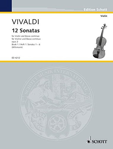 (12 Sonatas, Op. 2 - Book 1: for Violin and Basso Continuo (Violoncello ad lib.))
