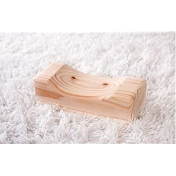 Amazon Com Therapeutic Wooden Pillow Made Of Hinoki