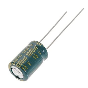 20PCS 1000uF 16V 105C Radial Electrolytic Capacitor NEW