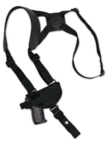 Barsony Cross Harness Shoulder Holster for 22 25 32 380 Pistol Baby Browning right