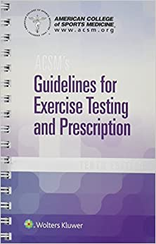Acsm's Guidelines For Exercise Testing And Prescription por American College Of Sports Medicine epub