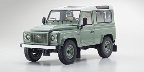 Defender 90 Land Rover (Kyosho Land Rover Defender 90 Heritage Grassmere Green/Alaska White 1:18)