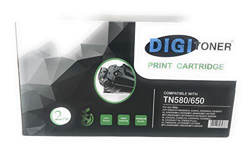 TonerPlusUSA New Toner Cartridge Replacement For Brother TN580 TN650 DCP-8070D/8080DN/8085DN/HL-5350DN/5350DNLT/5370DW/5370DWT/5380DN/MFC-8370/8370DN/8380DN/8480DN/8680DN/8690DW/8880DN/8890DW (1 Pack)