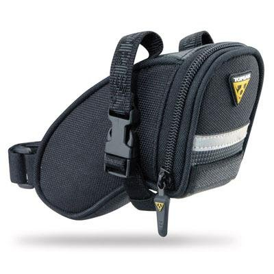 - Topeak Micro Aero Wedge Bicycle Saddle Bag - TC2471B (Black)