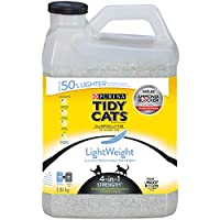 Purina Tidy Cats Lightweight Clumping Cat Litter; 4-in-1 Strength Multi-Cat - 3.86 kg Jug
