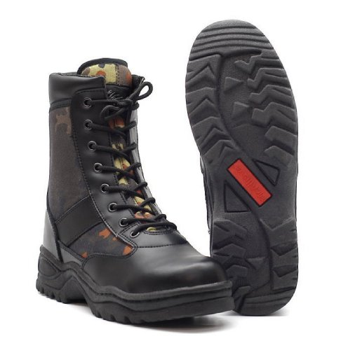 Vari Nero Mc Walk Outdoor Allister combattimento Stivali Bw da Mcallister Light Securitystiefel disegni RqfR71