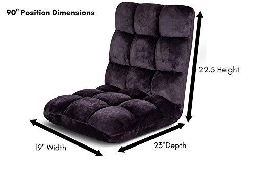 Birdrock Home Adjustable 14 Position Memory Foam Floor