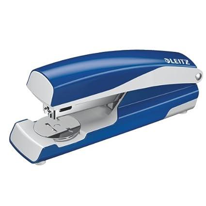 Leitz 5502 Azul, Acero inoxidable, Blanco - Engrapadora (30 ...