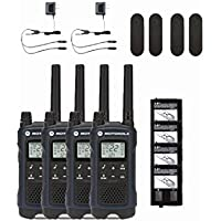 Motorola Talkabout T460 Two-Way Radio 4-PACK Weatherproof 22 Channel Walkie Talkies