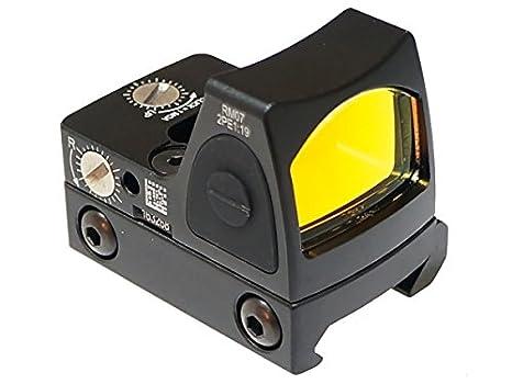 0f78f195e1 Amazon | [エアガン市場謹製] Trijiconタイプ RMR ドットサイト スイッチモデル(日本語説明書/保証書/ハードケース付) /  BK(ブラック) | パーツ 通販