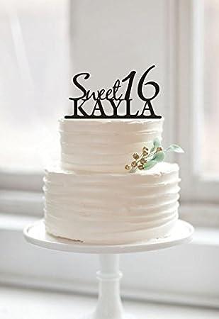 Sweet Kuchen Topper Fur Kinder Geburtstag Happy Birthday Cake Mit Name Und Alter Personalisierbar Letzten