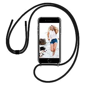 GOODVISH Case Coque iPhone Se/iPhone 7/iPhone 8 Cordon Tour De Cou Telephone   Pochette pour Telephone Portable   étui…